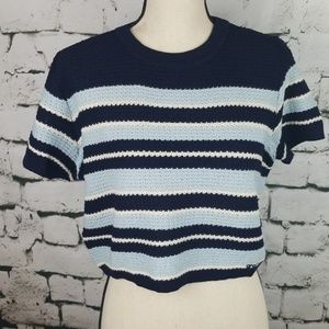 Vintage St. John Sport Knit Crop Top